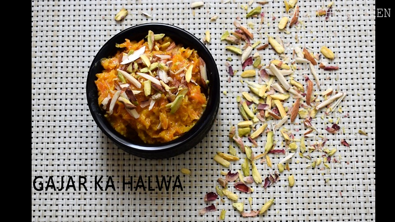 how to make carrot halwa with condensed milk